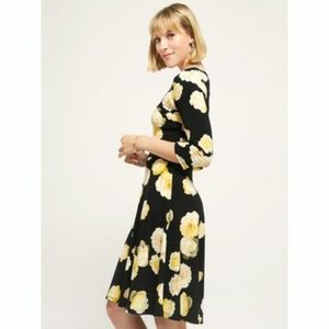 Suzi Shier Floral Fit & Flare Dress